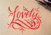 Texto / Lovely text, lettering... / by Silvia Ferreira