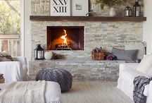 Fireplaces / by The Red Vault