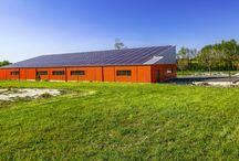 bâtiment photovoltaique