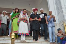 FMGG Promotional Tour @  Amritsar, Punjab / This is how the cast and crew of Fer Mamla Gadbad Gadbad started the Promotional Tour.