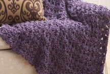 Blankies knit and crochet