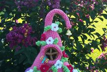 crochet minihouse