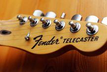 Fender American Special Telecaster / Fender American Special Telecaster with modded pickguard (original was black)