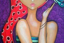 mujer ilustraciones