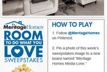Meritage Homes Media Love / by Jennifer Speed