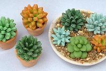 Miniature flower tutorials