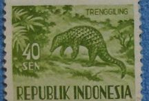 Personal STAMPS Collection INDONESIA