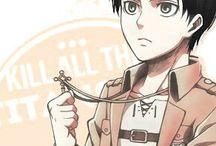 Shingeki no Kyojin / Quel giorno l'umanità ricordò, il terrore di essere controllata da loro. l'umiliazione di vivere come uccelli in gabbia. I'll kill every last one of them (Eren) This world is cruel, but also very beautiful (Mikasa) Willpower alone isn't enoug in a battle (Armin)