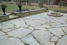 kamenné dlažby