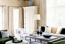 Living Rooms {Great Rooms} / by Sara Reed