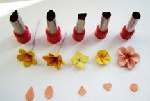 Different shapes of flowers
