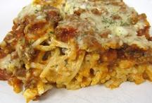 It has ta be pasta!