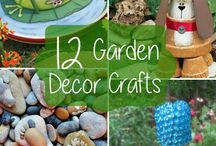 Garden Decor / Garden Art and Outdoor Decor, Yard and Garden Art, Decorative Garden Accents | Garden Decor