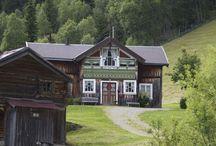 Norske gamle hus
