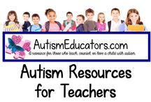Autism Resources for Teachers / A wide selection of resources for the busy Special Education teacher.