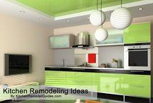 Modern Kitchen Design Ideas / Some great modern kitchen design ideas which will help you with your kitchen remodeling project.