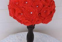 Crafts / Knutselen voor een bruiloft is vaak origineel en goedkoop en tevens een leuke voorbereiding op het huwelijk!