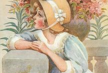 In my Easter bonnet / Bonnets, eggs and all things celebrating Eastertide.