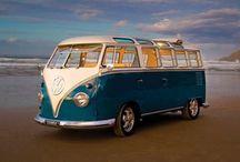 VW Vans and vintage caravan / by Sara Ambrosiani