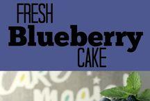 Blueberry Cake Recipes