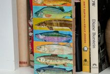 Christmas Gifts for Fishermen- Gifts for Men / Here's a whole bunch of my Fish Art that makes excellent Christmas Gifts for Fishermen or Fishing Gifts for Men, Women or Kids!