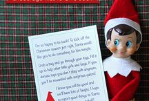 Elf on shelf / by Morgan Claunch