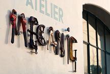 Atelier / by DE L'ATELIER