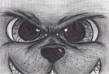"""Mis """"intentos"""" de dibujos / Me gusta dibujar pero debo mejorar... XD"""