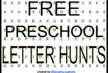Letter fun for kiddos / by Becky VanRiper