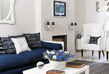 New England interiors / Inrichtingen in maritieme New England stijl