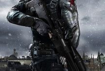 Comic Character - Winter Soldier (Cap. America)