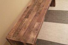 bancos d madera