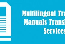 Training Manual Translation / TridIndia is a multilingual training manual Translation Company offering precise translations of the basics and instructions required for performing a task