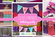 Chelyce lego friends party