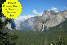 Yosemite National Park / by WALK SIMPLY Outdoors, Hiking, Walking, Play