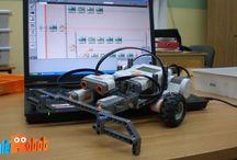 Roboty zbudowane podczas zajęć. / Tu możecie znaleźć zdjęcia robotów zbudowanych przez uczestników naszych zajęć.