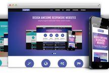 Web Design Templates / Joomla Website Templates