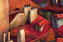 Yuriy Shevchuk pastel