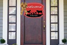 FFA Life / FFA, Farm, Animals, Raise animals. Show animals. garden flag. door hanger. welcome mat. sticker. hobby. hobbies. unique. home decor.
