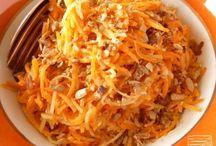 Salade de carottes et pommes