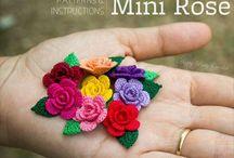 Häkeln Sie Muster Mini Flower Häkelanleitung von HappyPattyCrochet