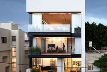 Town House Inspiration / Facade collection that inspires my designing style