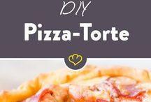 Pizza, Quiche + Tartes