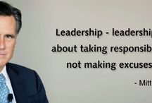 Leadership / Leaders do not find fault, They always find a remedy.