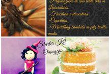 Corso Cake design Halloween Pasticceria di base e Modelling Medio / Corso di pasticceria di base e modelling medio tema Halloween www.torteamorefantasia.com