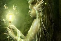 Fantasy / Mythical creatures and beautiful fantasy art etc.