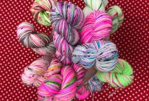Kate Selene Hand Dyed Yarn