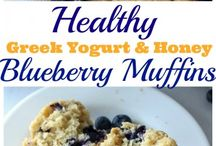 HealthKit blueberry muffin