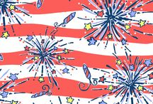 Star Spangled Wardrobe / Fashion associated with the 4th of July, Memorial Day, Labor day and other patriotic holidays