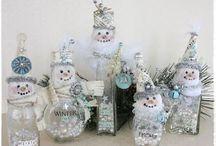 snowmen / by Vicki Callier